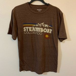 Steamboat Colorado tee